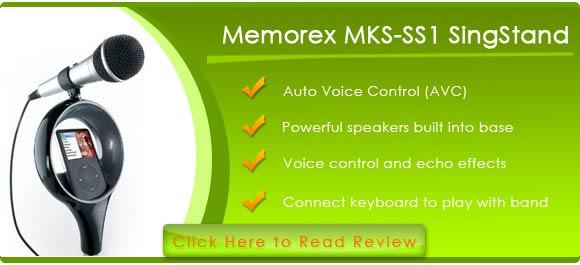 Memorex Mks Ss Singstand  Home Karaoke System
